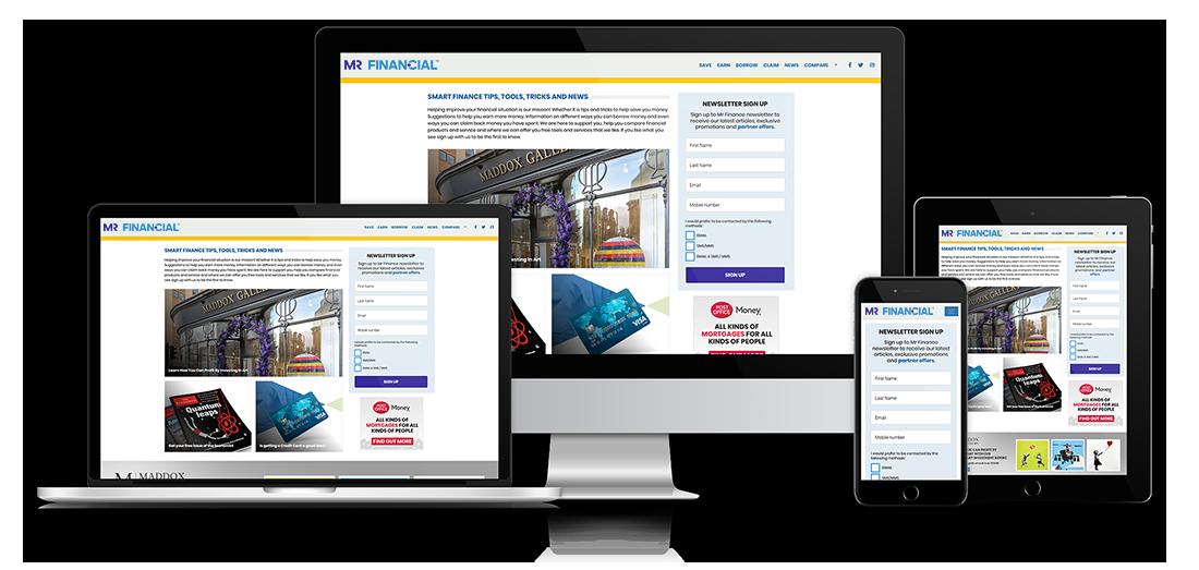 Mr Finance Website