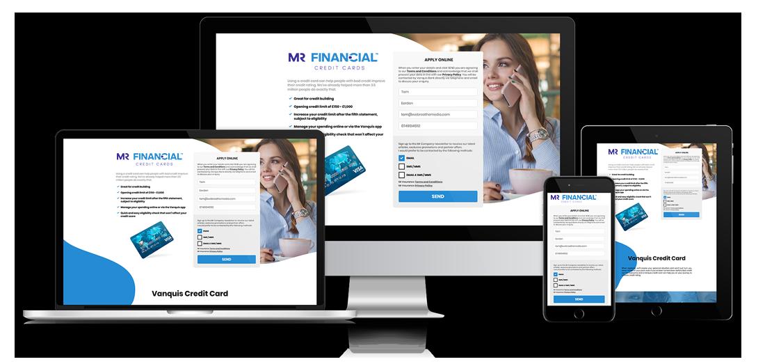 Mr Finance - Credit Card Website